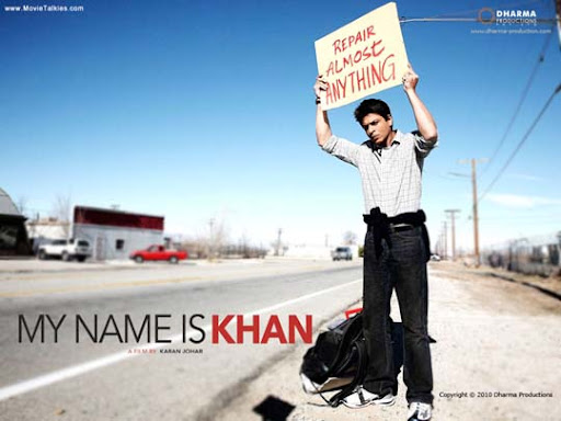 my+name+is+khan 30+ Creative Bollywood Movie Posters | Design Inspiration