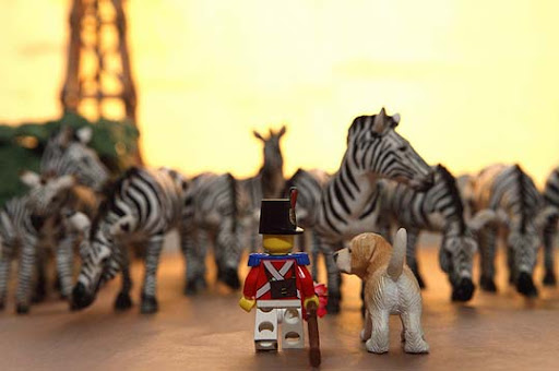 Look+our+friends+the+zebras 50 Incredibly Creative LEGO Creations