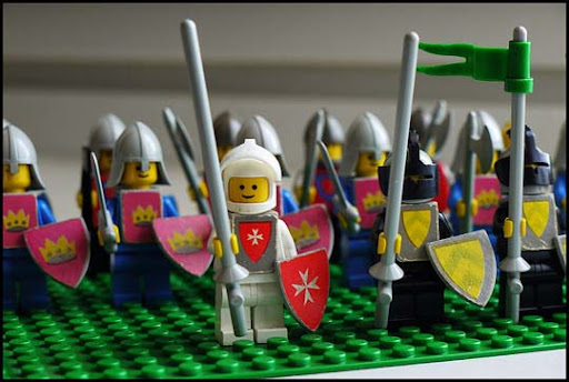 Old+Castle+Knights 50 Incredibly Creative LEGO Creations