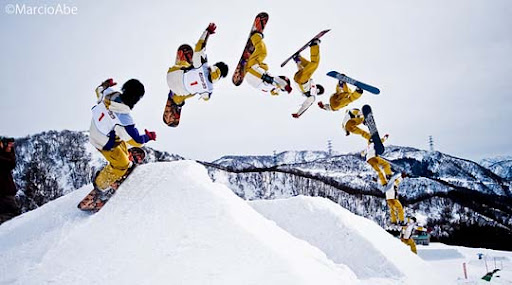 Snowboard+ +Sequence+Photography 40 Stunning Sequence Photography Examples