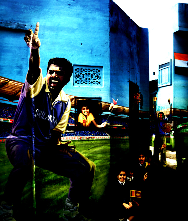 Sri+Lanka+World+Cup+Murlitharan Official ICC Cricket Worldcup 2011 Print Advertisements Posters