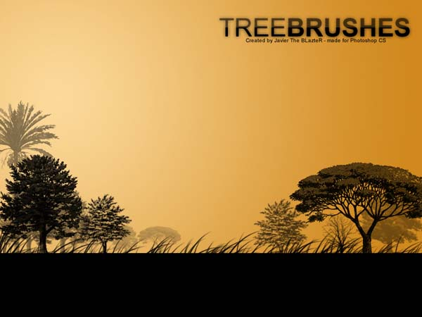 Tree Brushes by getfirefox 1500+ Free GIMP Brushes Packs for Download