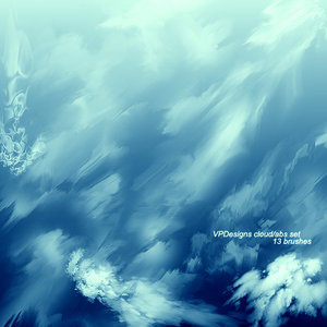 Cloud Abstract set by VPDesign by droz928 1500+ Free GIMP Brushes Packs for Download