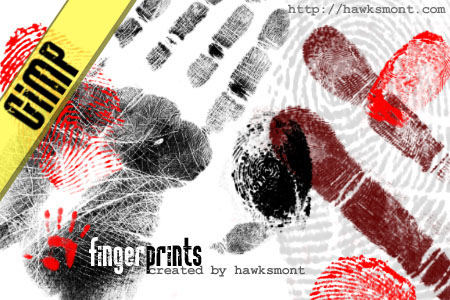 GIMP  Fingerprints by hawksmont 1500+ Free GIMP Brushes Packs for Download