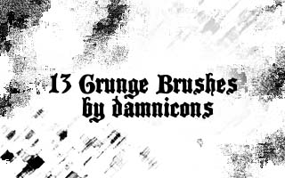 More grunge brushes by Sarah Dipity 1500+ Free GIMP Brushes Packs for Download