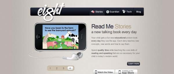 Read+Me+Stories Best Examples of iPhone Apps Websites Designs