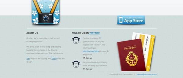 Tourist%252C+The+WikiTravel Best Examples of iPhone Apps Websites Designs