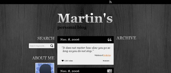 Martin%25E2%2580%2599s+Style The Best Free Tumblr Themes