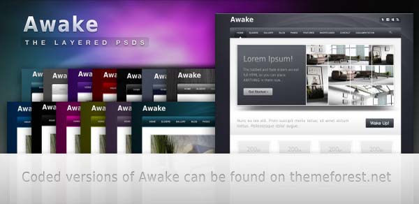 Awake+Wordpress+Theme 80+ Free Editable PSD Website Templates