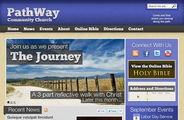 Pathway+Free+PSD+Church+Template 80+ Free Editable PSD Website Templates
