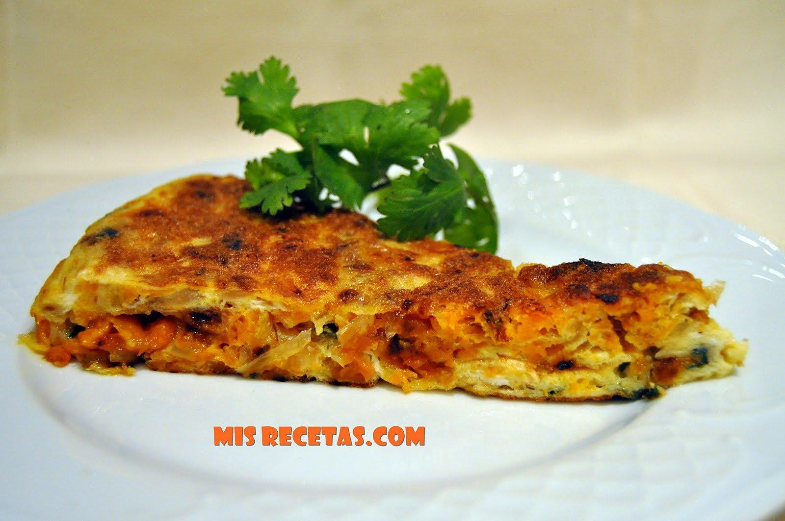 Mis recetas com tortilla de calabaza frita for Calabaza frita