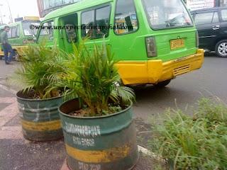 mass transportation in City a.k.a angkot