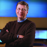 Bill Gates who invented Microsoft. He is from America.