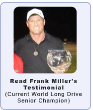 Frank Miller Current World Long Drive