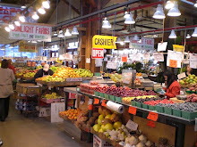 Farmers Market. Granville Island, Vancouver, BC
