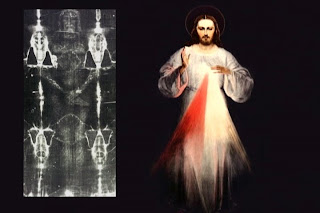 Divine Mercy Image and the Shroud
