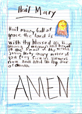catholic prayer, child prayer