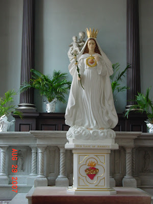 Our Lady Of America, Virgin Mary