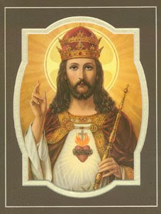 Jesus Christ The King, Sacred Heart