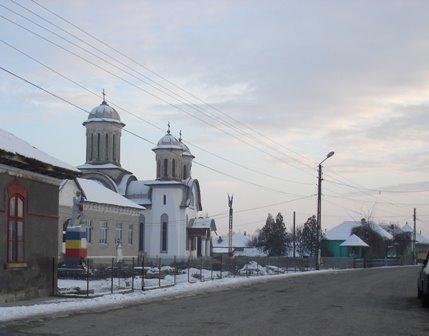 Spre centrul comunei Rogova