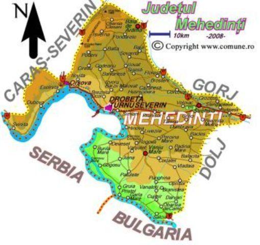 Comuna Rogova din judetul Mehedinti