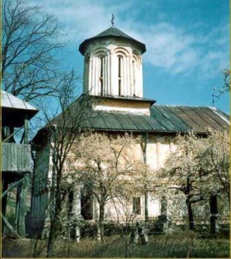 Biserica din satul Poroinita