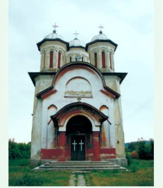 Biserica ortodoxa din comuna Rogova construita in anul 1960