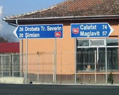 Pozitia geografica a comunei Rogova