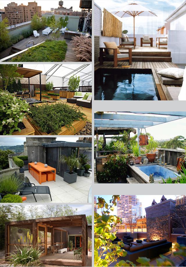 Seaseight design blog interior design rooftop and for Interior design rooftop terrace