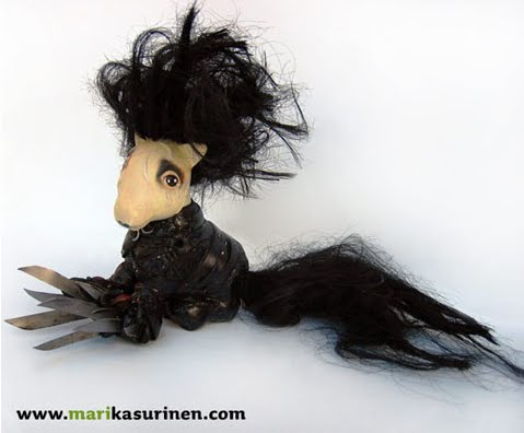 Whoopidooings - Mari Kasurinen - Altered My Little Pony - Edward Scissorhands