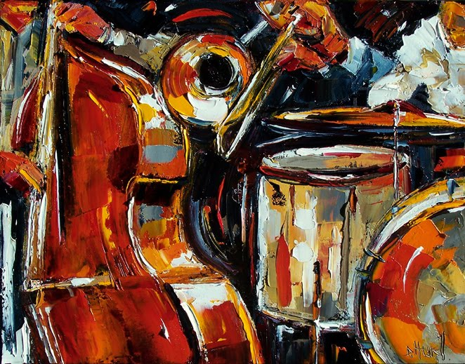 New Orleans Jazz Painting at ArtistRising.com