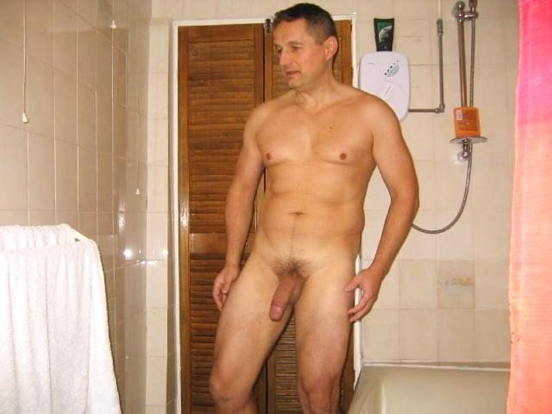 Naked daddy shower good