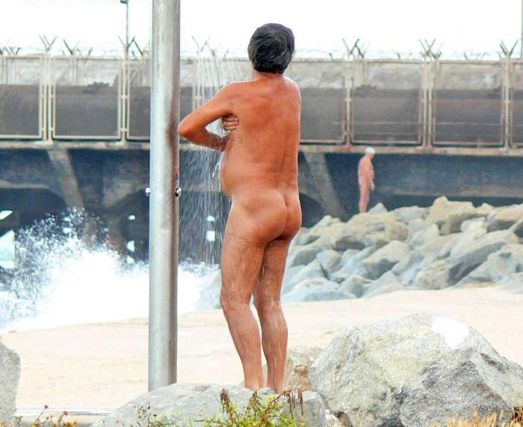 Naked Dad Shower Spy Cam