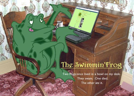 Swimmin Frog