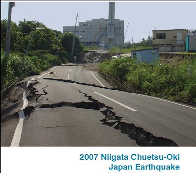 Niigata Japan earthqauke