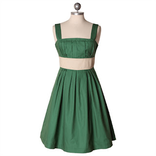 The Allen Bunch: date with the wizard emerald green dress ...