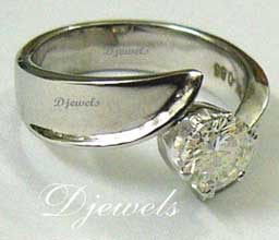 Lady Daina Diamond Ring