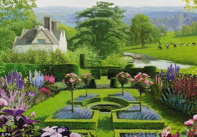 English Garden Landscape Design Using Traditional Plants