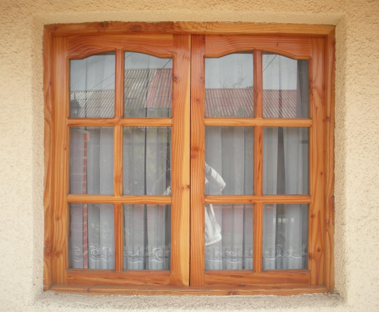 Maderas marabu ventana exterior for Ventanas en madera para interiores