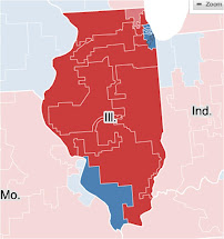 Illinois County Election Map
