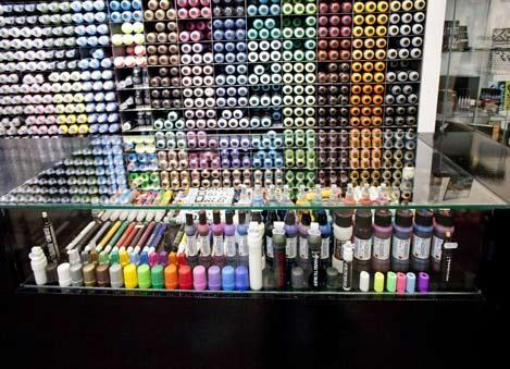 Graffiti store Elpunto 24/