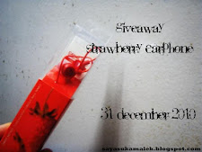 Giveaway Malek Ku..Strawberry Earphone
