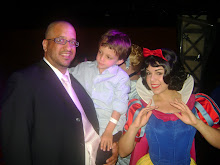Michael, Cole and Snow White