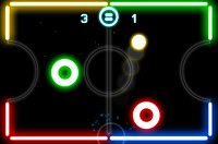 Glow Hockey FREE - Free IPhone Gamer - Free iPhone Games and iPhone Apps