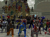City of Heroes Going Rogue MMORPG