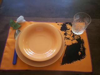 Mayo franc s deco almuerzo romantico for Almuerzo en frances
