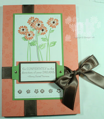 live your dream stampin up military spouse gift
