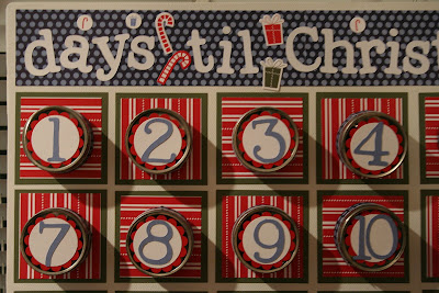 advent calendar stampin up scappin all the trimmings cricut expressions doodletype