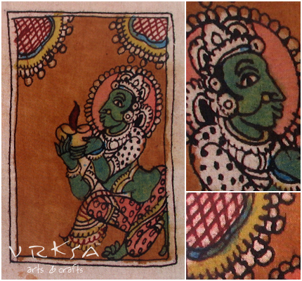 Vrksa Arts Amp Crafts Kalamkari Indian Traditional Art