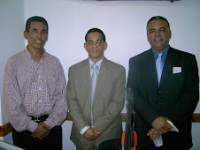 PRESIDENTE DEL INDOTEL VISITA EMISORA SONIDO ALEGRE 104.1 FM EN GASPAR HERNANDEZ